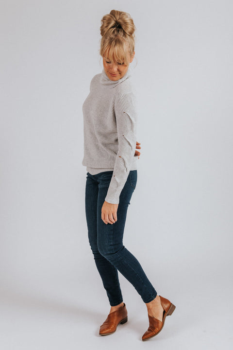 Bristol Turtleneck Sweater - Nell and Rose
