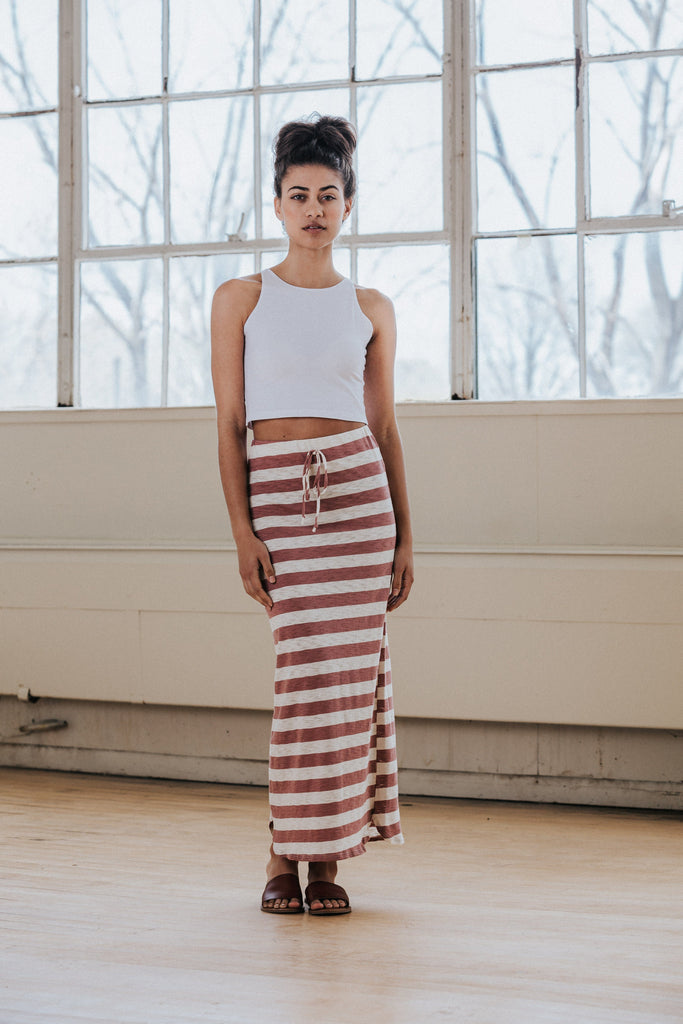 Amie Striped Skirt - Nell and Rose