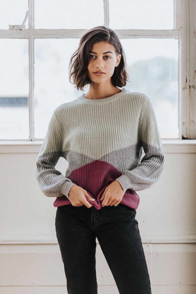Allegra Colorblock Sweater
