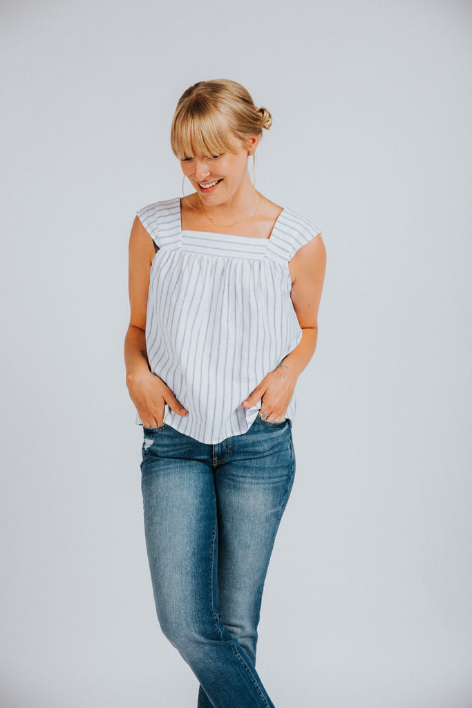 Sweetly Striped Top - Nell and Rose