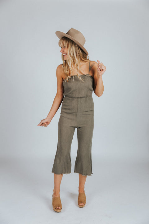 Weekend Getaway Jumpsuit - Nell and Rose