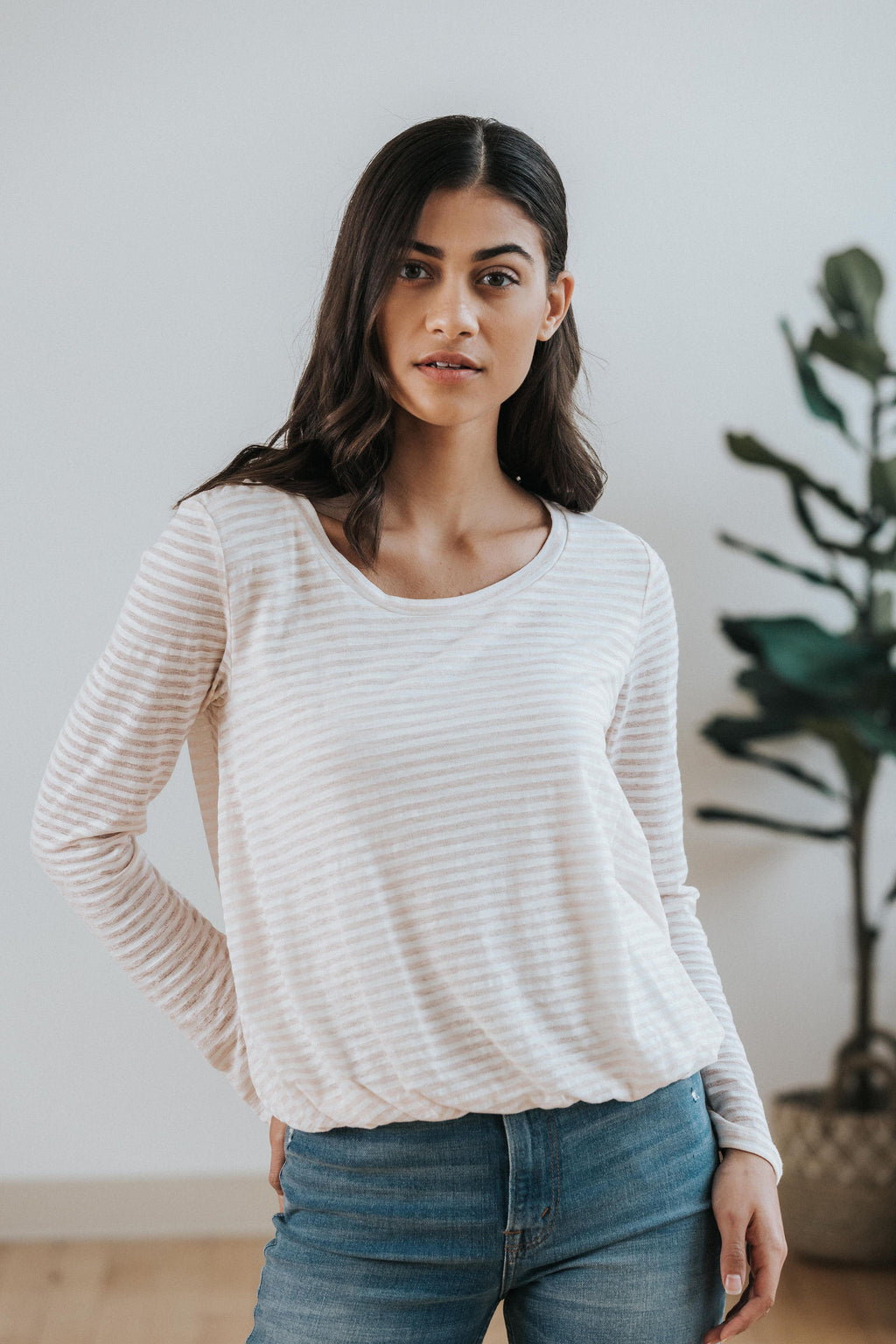 Emma Striped Top - Nell and Rose