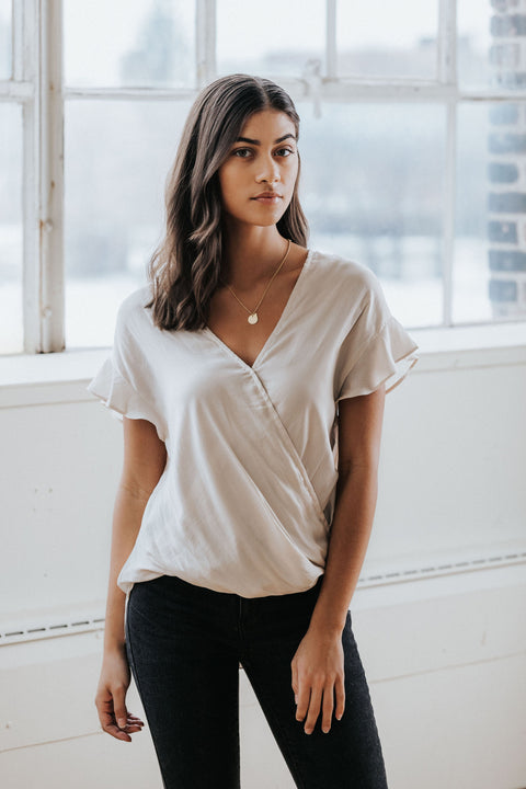 Lindsay Surplus Top - Nell and Rose