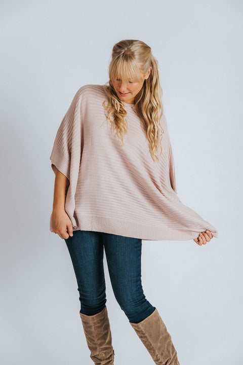 Harper Square-Cut Sweater - Nell and Rose