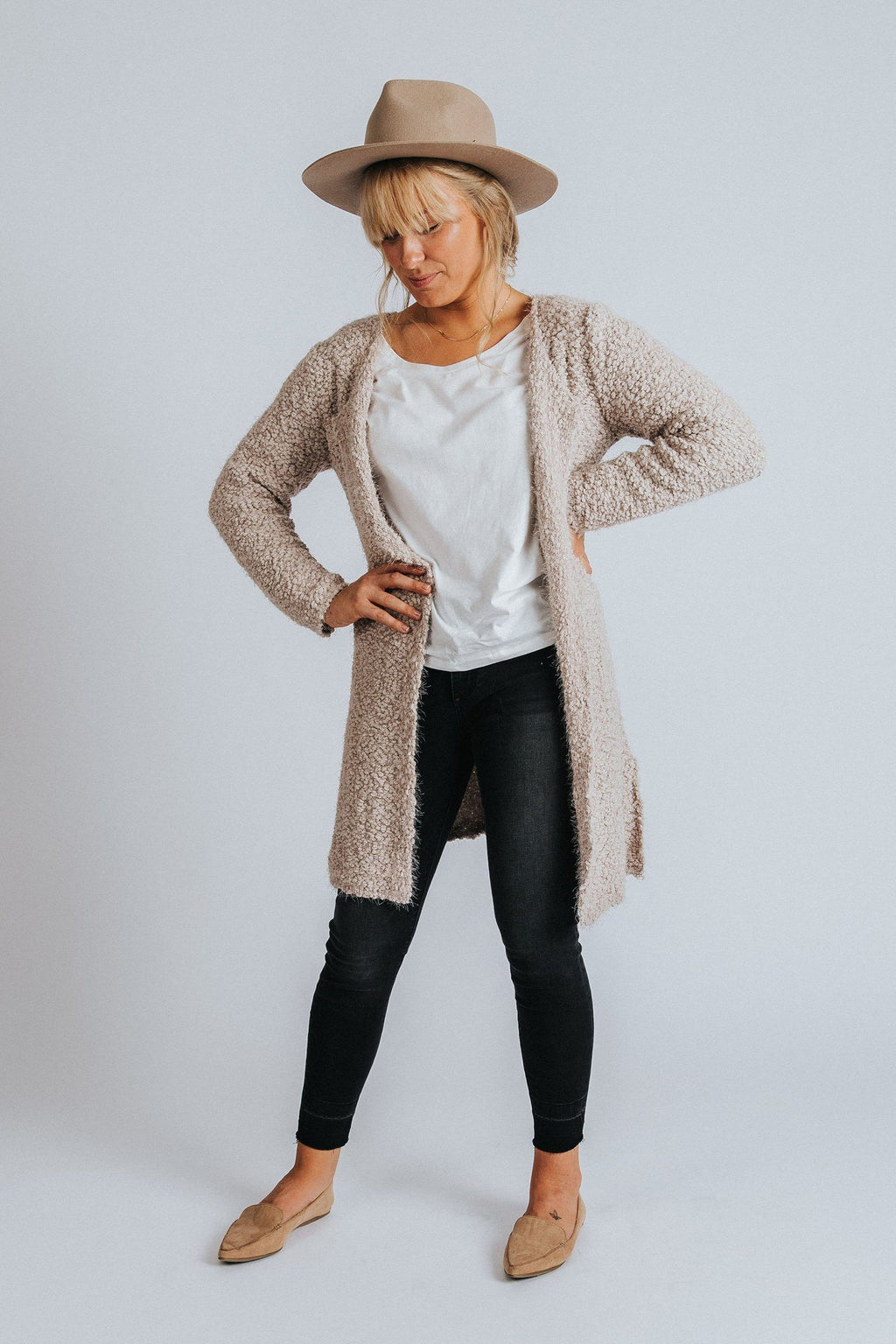 Charlotte Cardigan - Nell and Rose