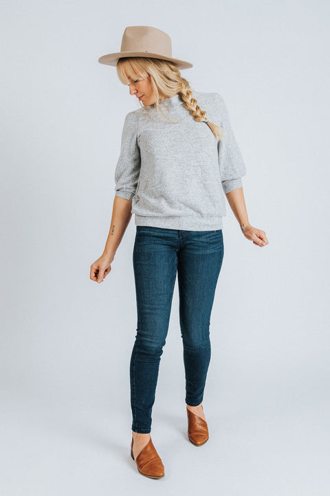 Puff Sleeve Sweater - Nell and Rose