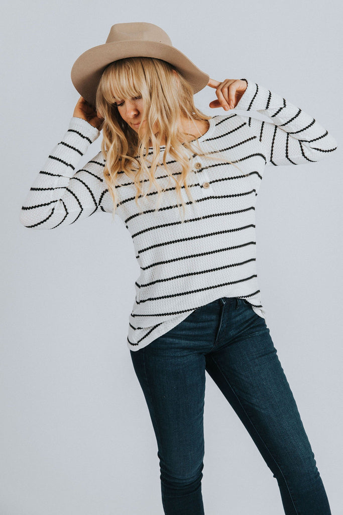Alex Striped Top - Nell and Rose