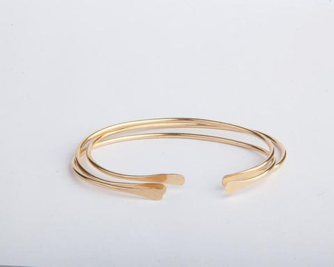 Open Bangle Bracelet - Nell and Rose