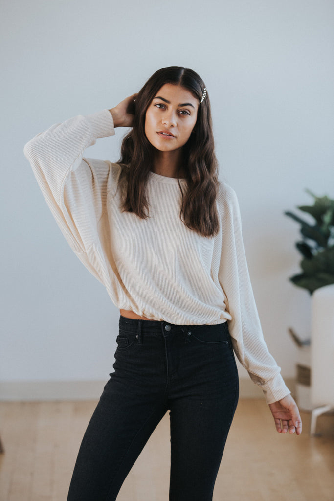 Tessa Sweater Top - Nell and Rose