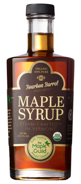Maple Guild Organic Bourbon Barrel Maple Syrup