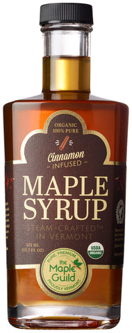 Maple Guild Organic Cinnamon Infused Maple Syrup