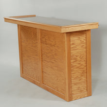 6' Oak Home Bar