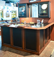 Two Tone Home Bar