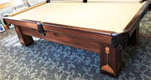 Converting a 1928 royal mahogany snooker rail to a pool table rail