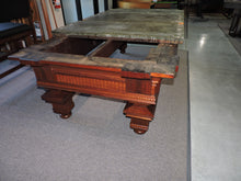 Restoration of a beautiful 1880's Jewel pool table. Read the story of this antique table