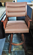 "30"" IM David swivel bar stool"