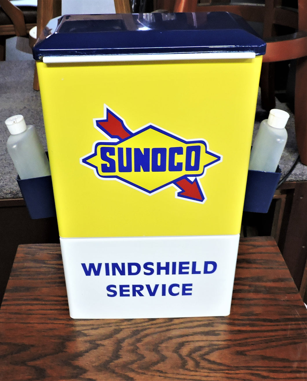 Sunoco 1950S Gas Oil Station Towel Box Dispenser