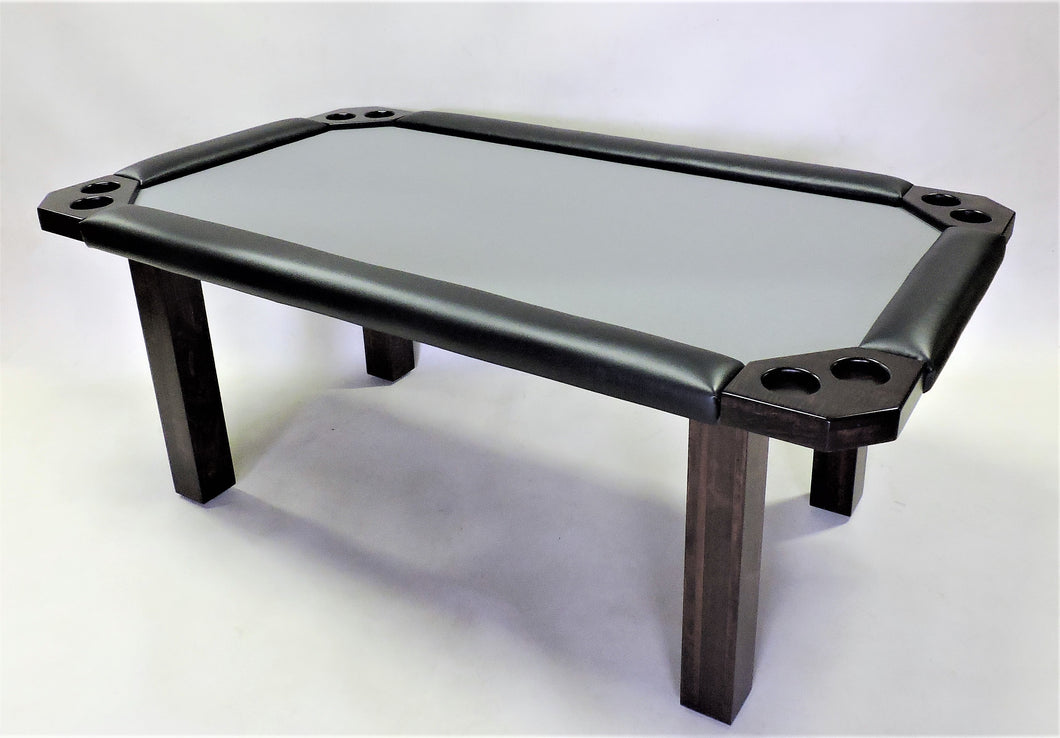 6' Square legged poker table