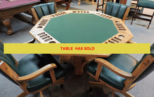2 in 1 dining top/Poker Table (Deal me in special)