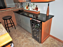 Oak and Granite Bar