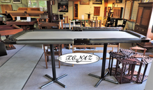 TCNAZ 8' metal leg Poker/Gaming table