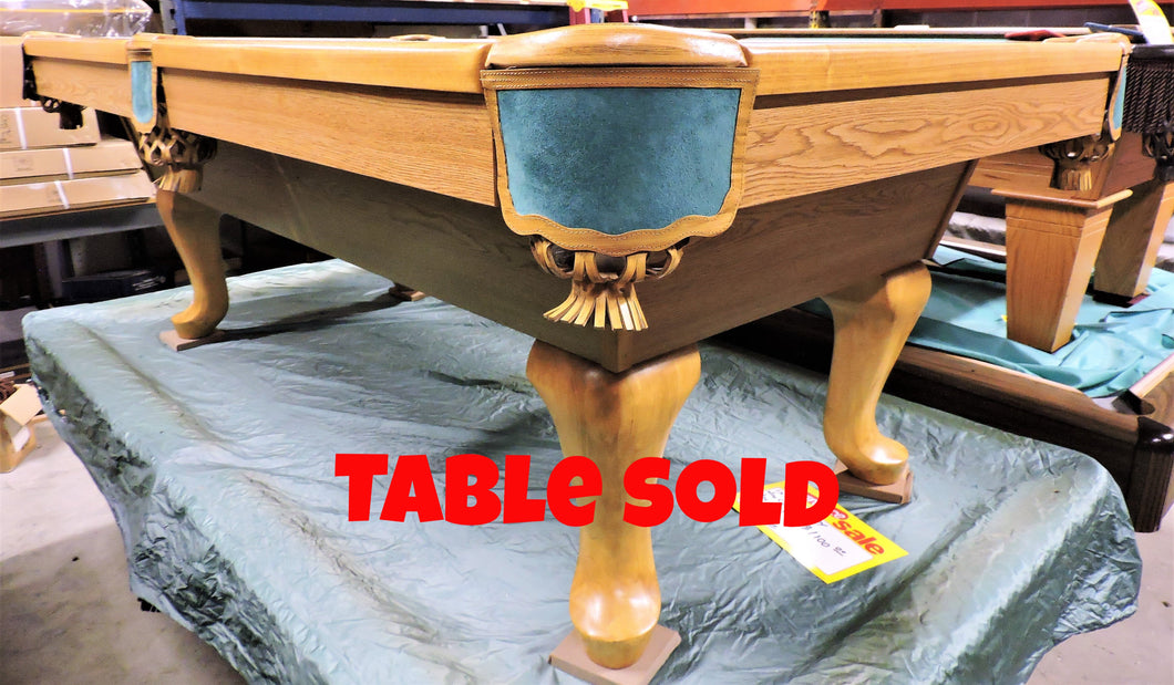 TC NAZ 7' used billiard table