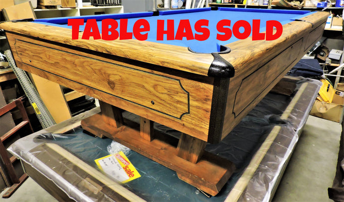 Kasson used 8' billiard table