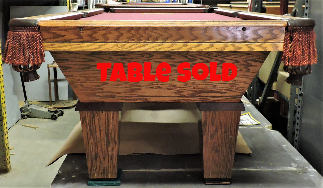 Golden West Billiard Table