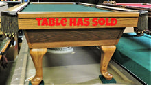 T.C.Naz 8' pool table
