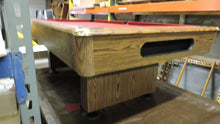 "3/4"" x 3 1/2' x 7' used pool table"