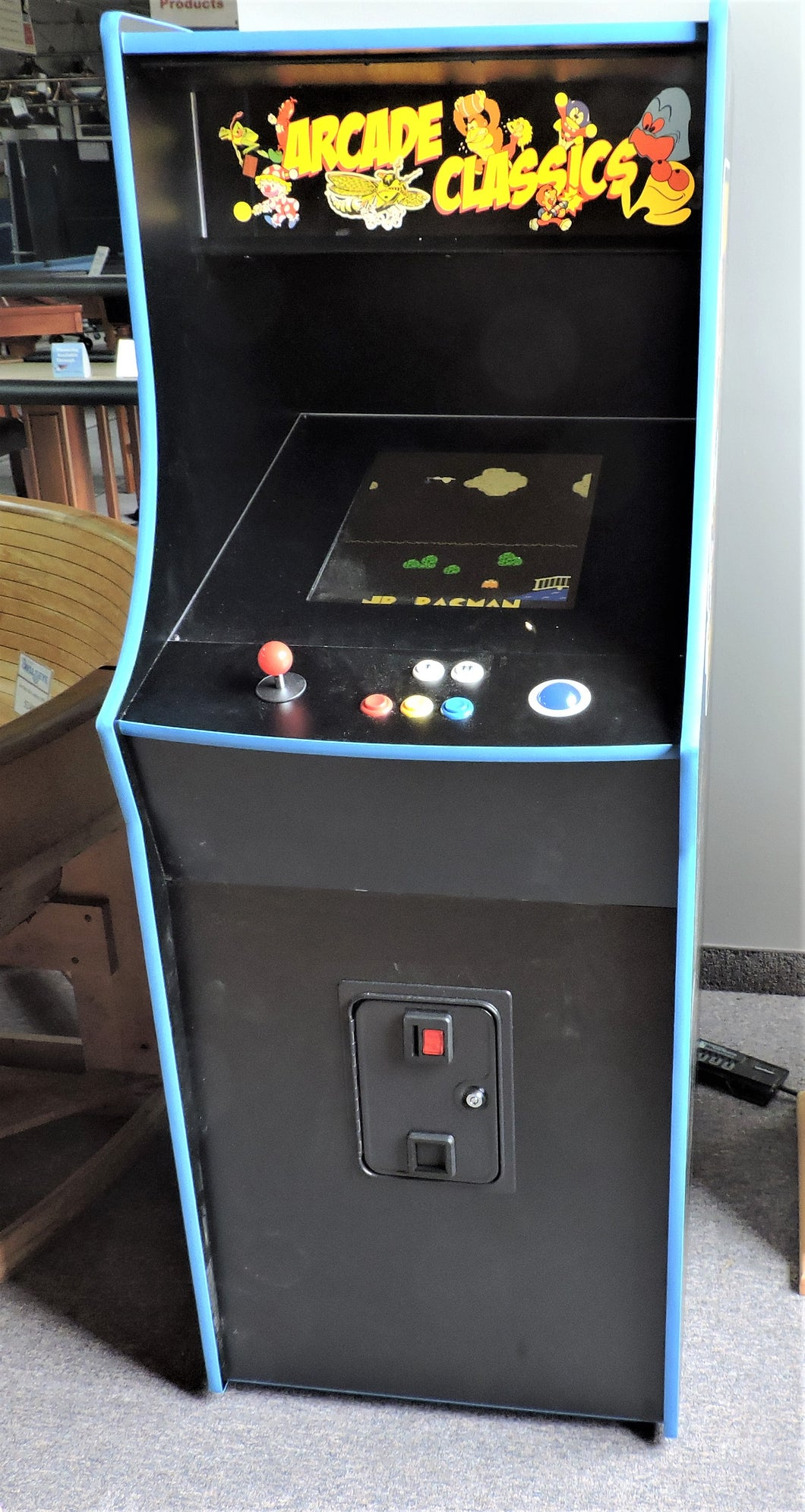 Arcade Classics stand alone video arcade game system