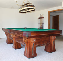 6 legged arcade pool table