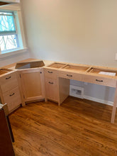 Kitchen cabinets that we did as a special