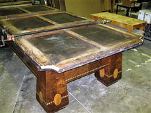 Antique table refurbishing