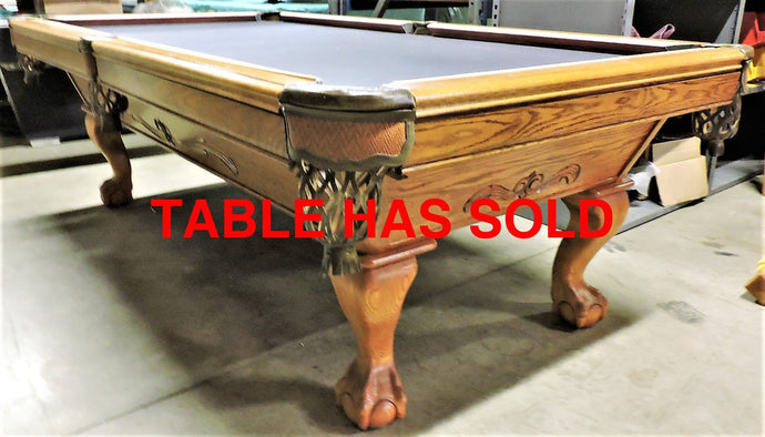 Brunswick Manchester 8' pool table