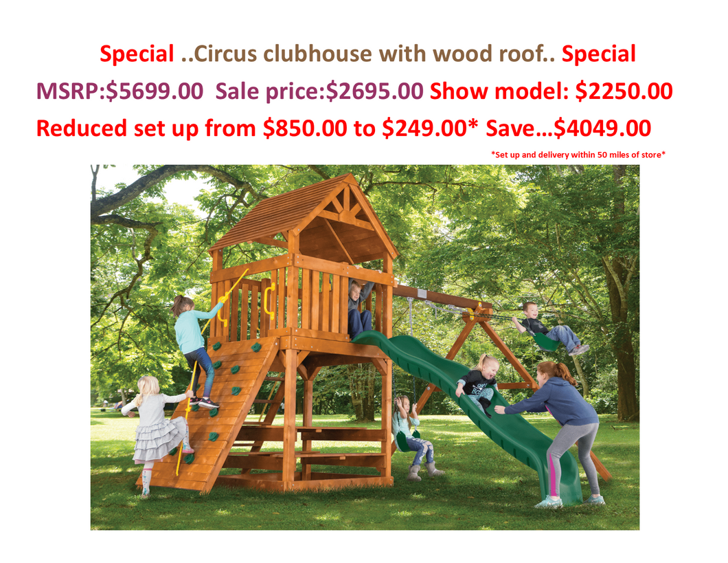 circus clubhouse special