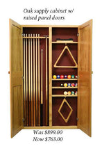 15% off all of our TCNAZ custom dart and billiard cabinets.