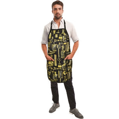 Betty Dain Limited Edition Vintage Black & Gold Apron