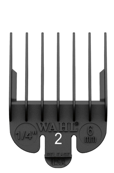 Wahl Clipper Guard Attachment Combs in Black