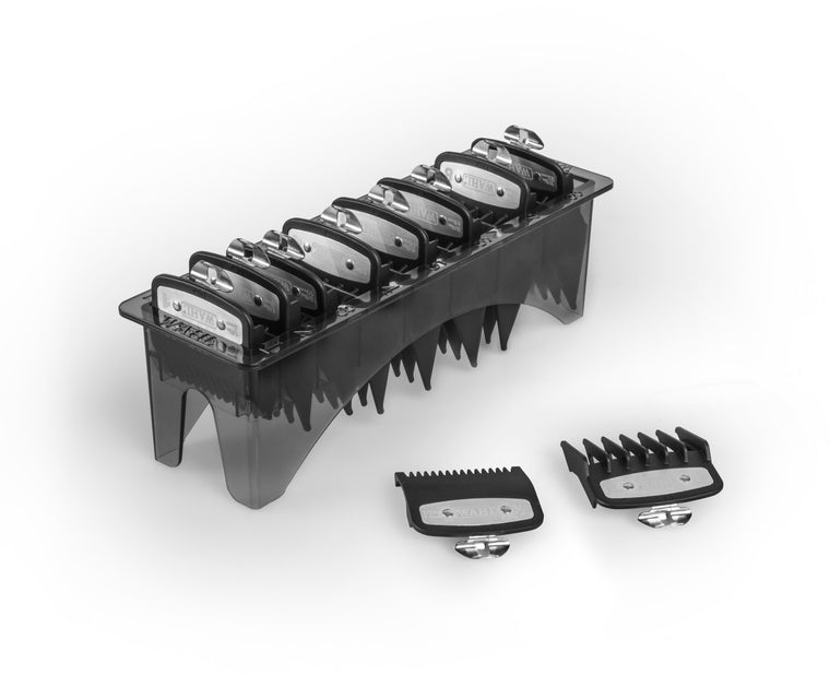 Wahl Premium 10 Guard Clipper Comb Set (inc ½ + 1½)