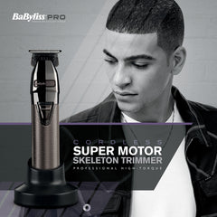Babyliss Pro Super Motor Skeleton Trimmer With Charging Stand