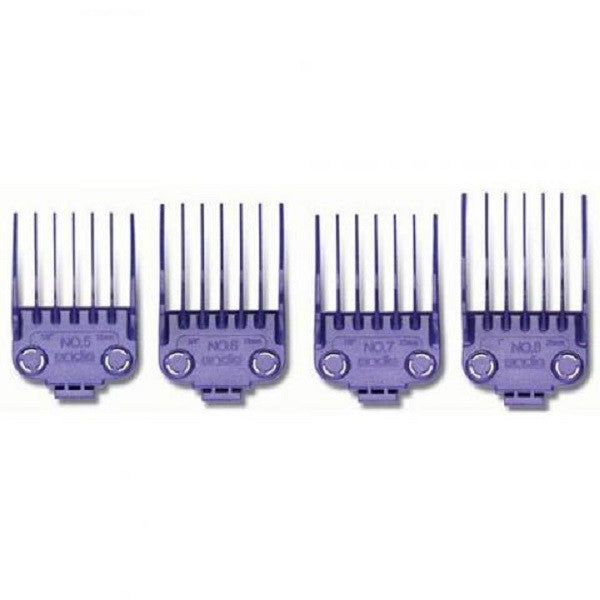 Andis Nano Large Comb Set (Size 5-8)