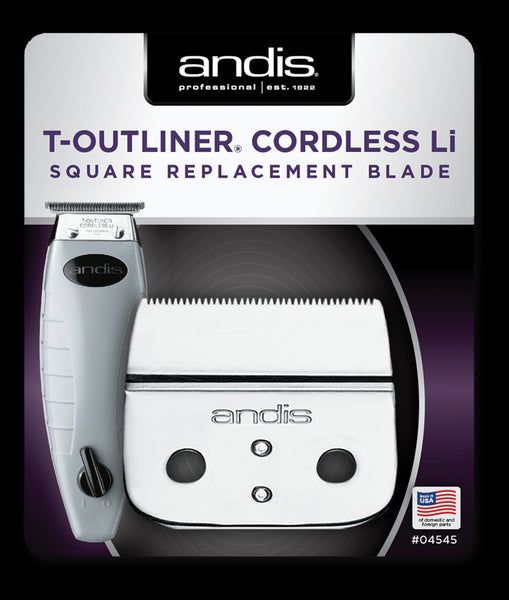 Andis T-Outliner Cordless Square Replacement Blade
