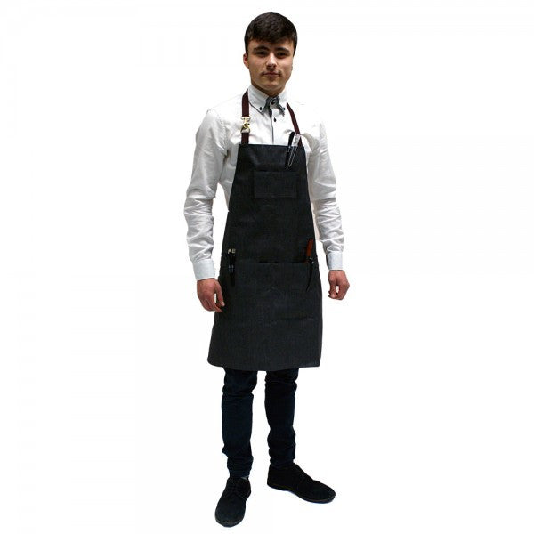 Hair Tools Barber Apron - Charcoal