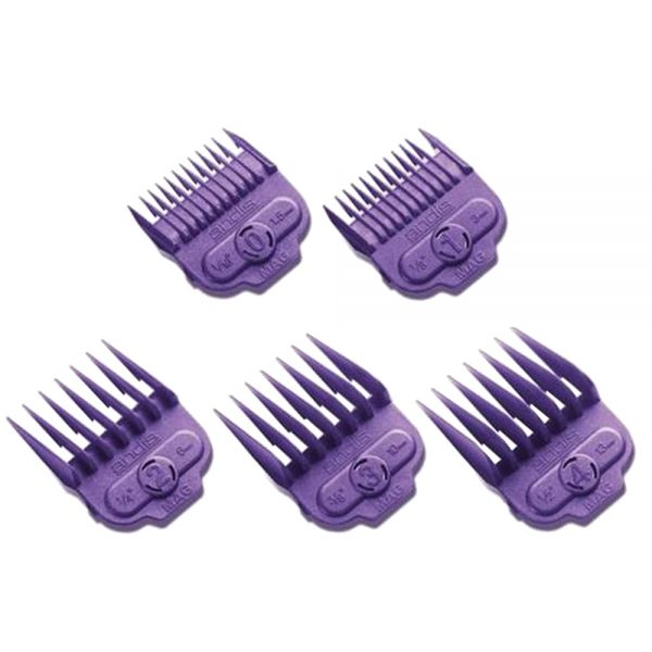 Andis Nano Single Magnetic Comb Set (Size 0-4)