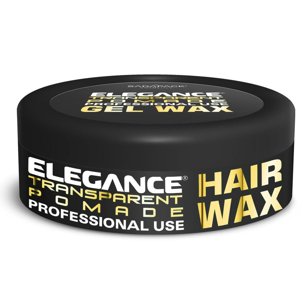 Elegance Transparent Hair Pomade Wax - 150ml