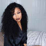 LACE CLOSURE -KINKY CURLY- BRAZILIAN