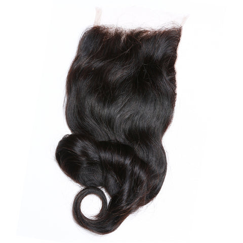 LACE CLOSURE - LOOSE WAVE - BRAZILIAN