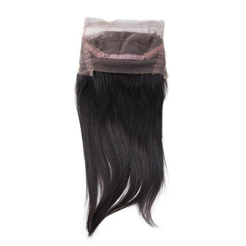 360° LACE FRONTAL - STRAIGHT+ 3 BUNDLES(#1B)