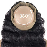 360° LACE FRONTAL - BEACH WAVE + 3 BUNDLES(#1B)